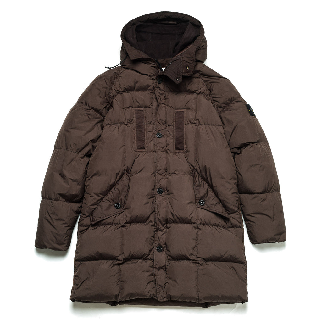 Crinkle Rep Parka Down Jacket 711570123 Moro
