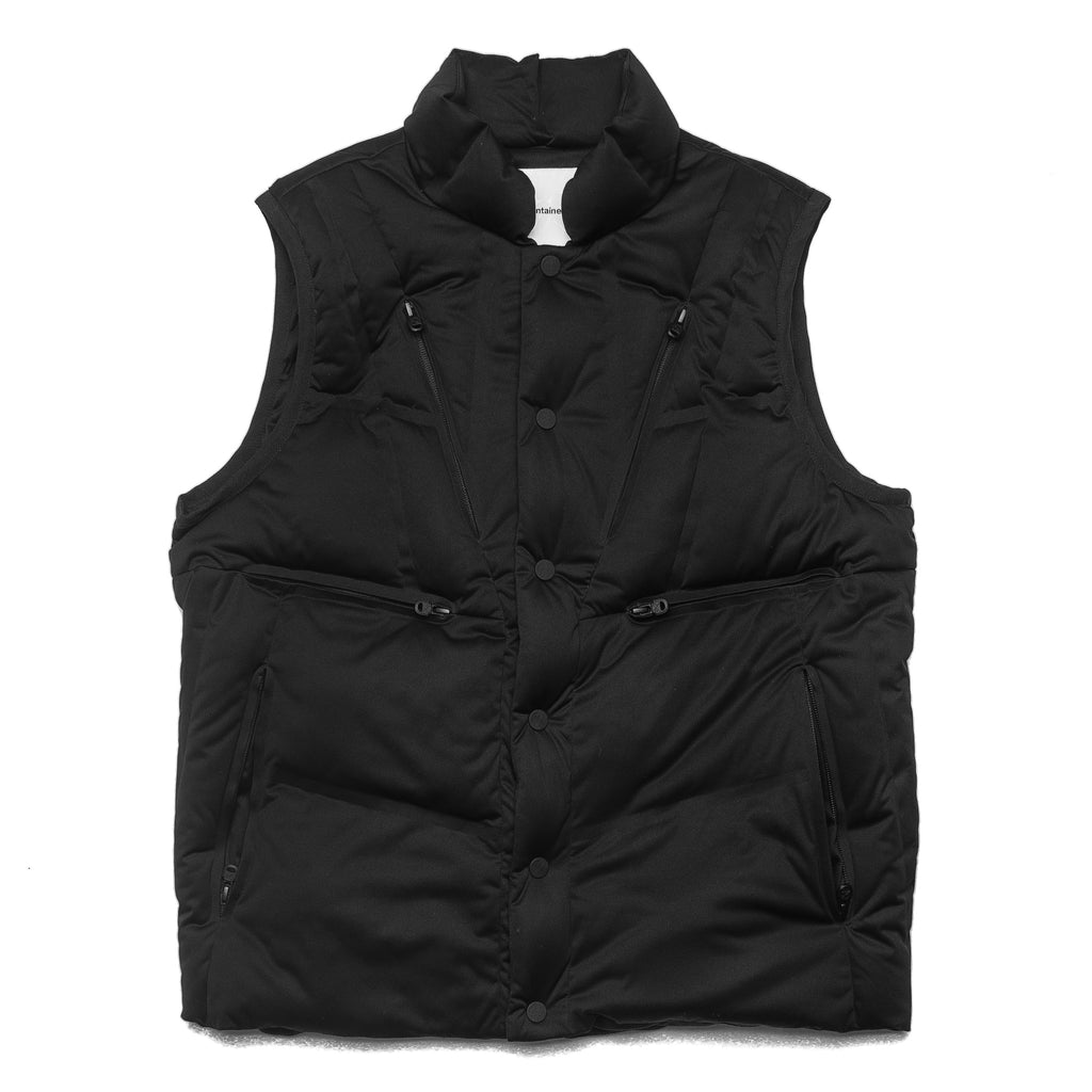 Seamless Down Vest Black