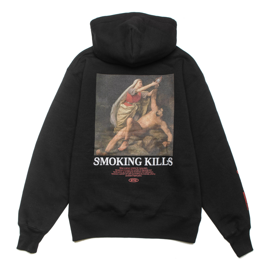 Please Stop Killing Yourself Hoodie Black