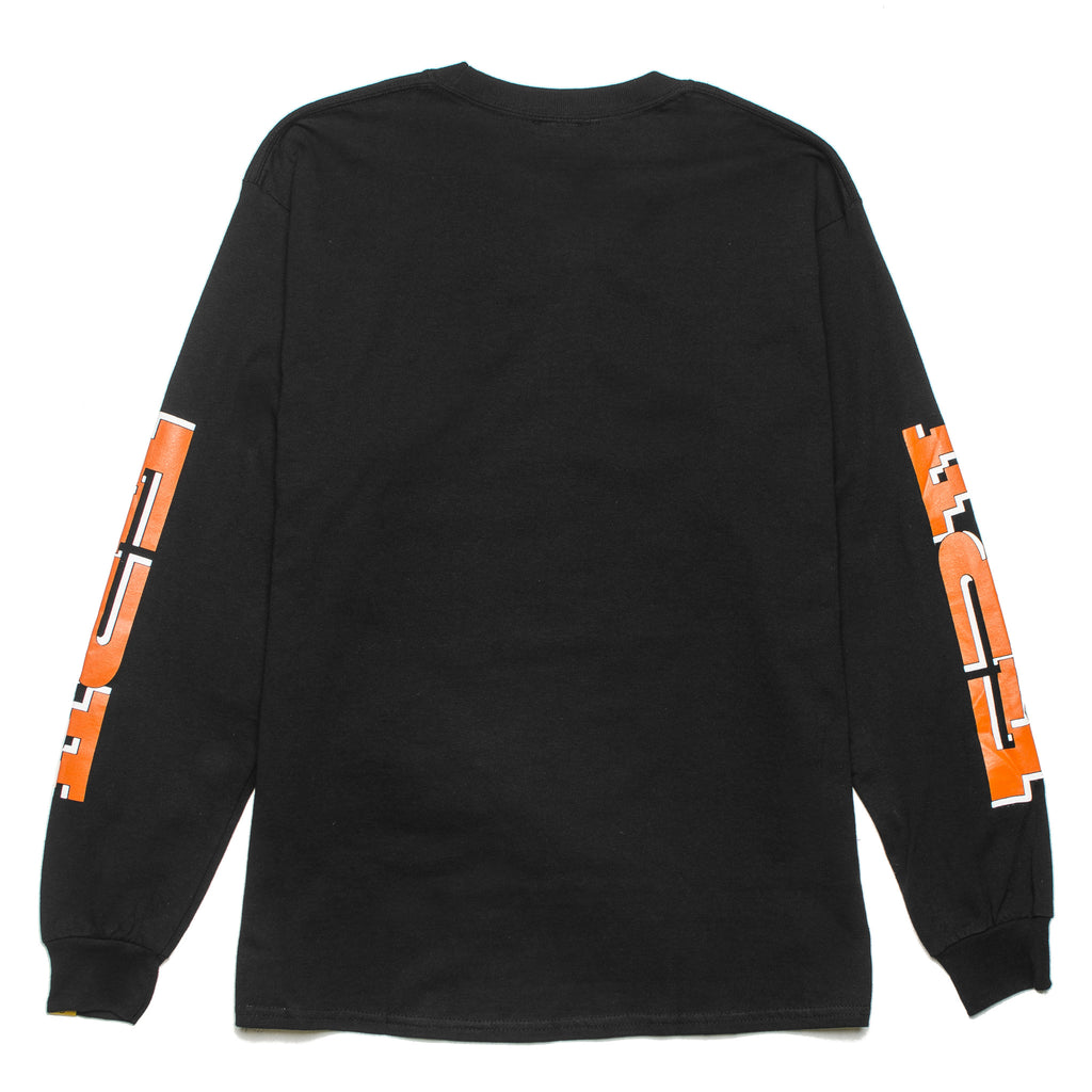 The Finger LS Tee Black
