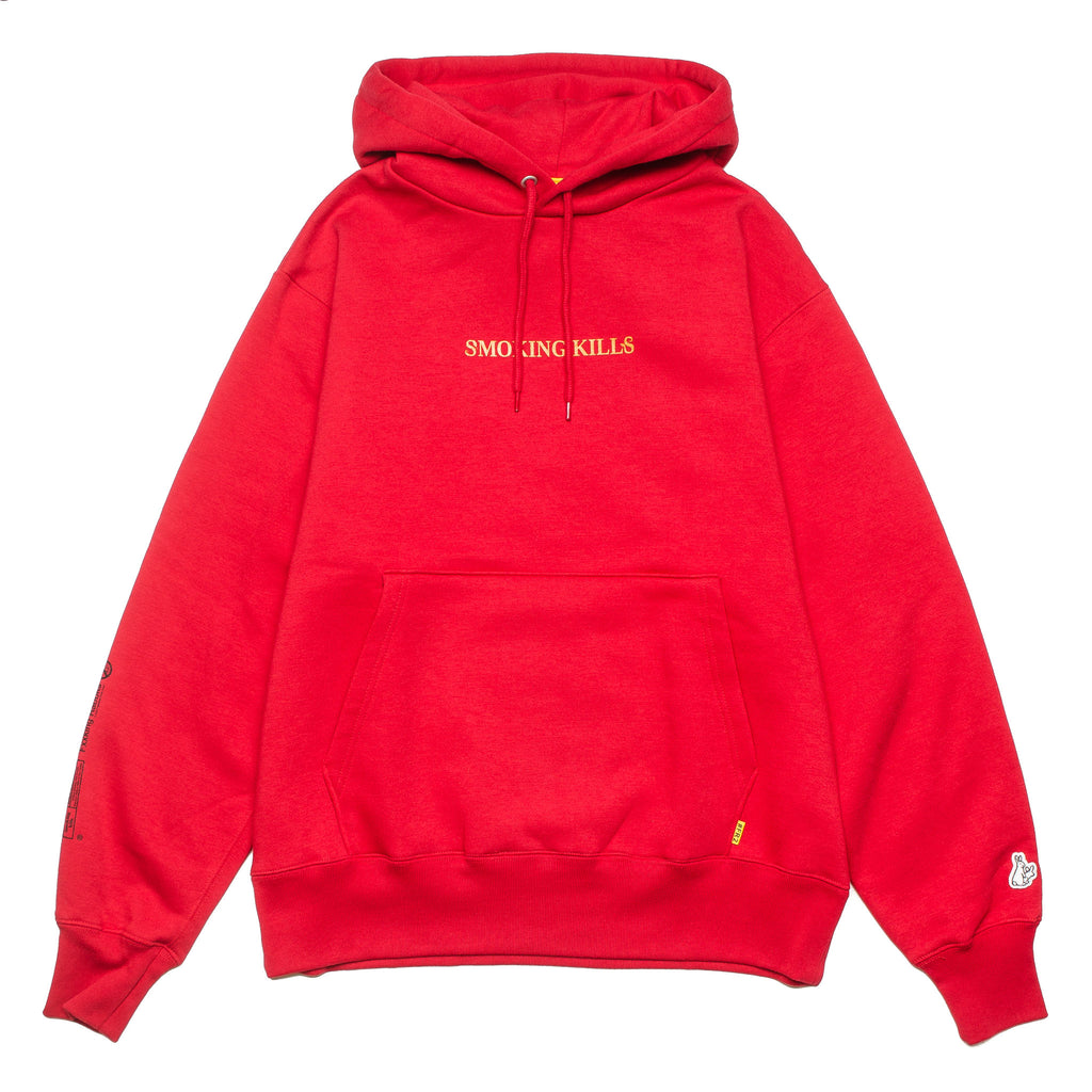 Please Stop Killing Yourself Hoodie Red