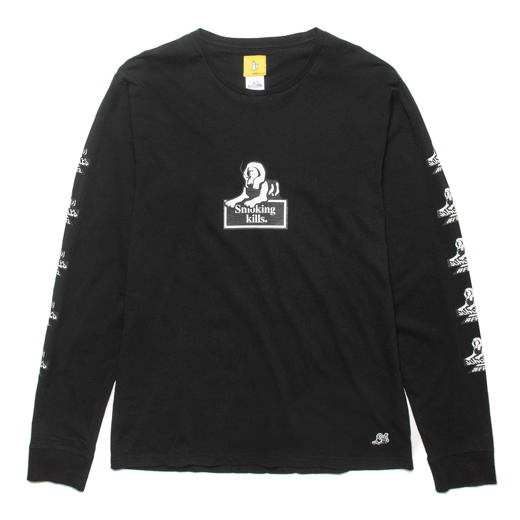 Smoking Kills LS Tee FRC403 Black