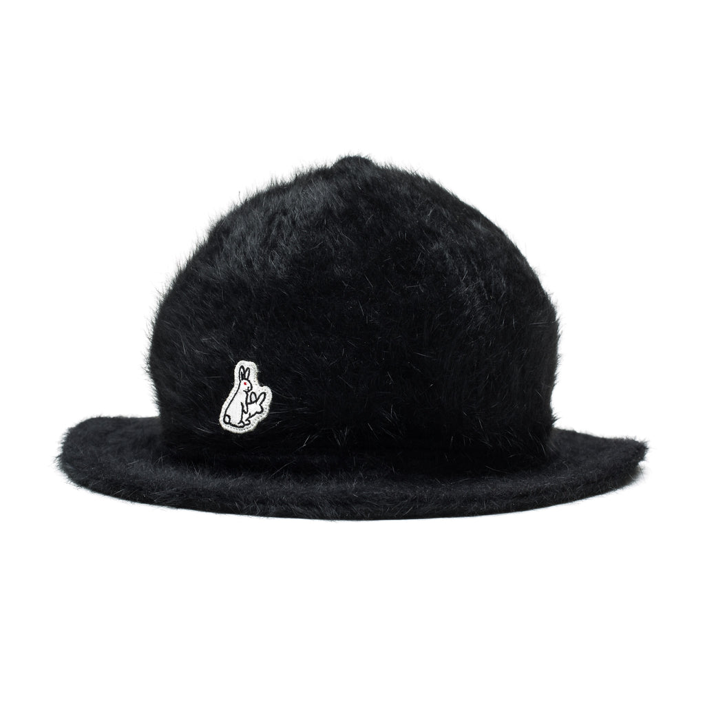 Bermuda Faux Fur Hat Black