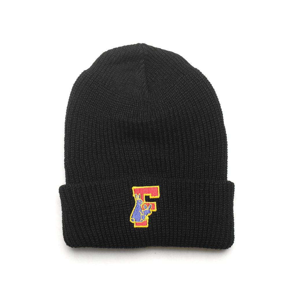 Rabbit's Foot Beanie FRA177 Black