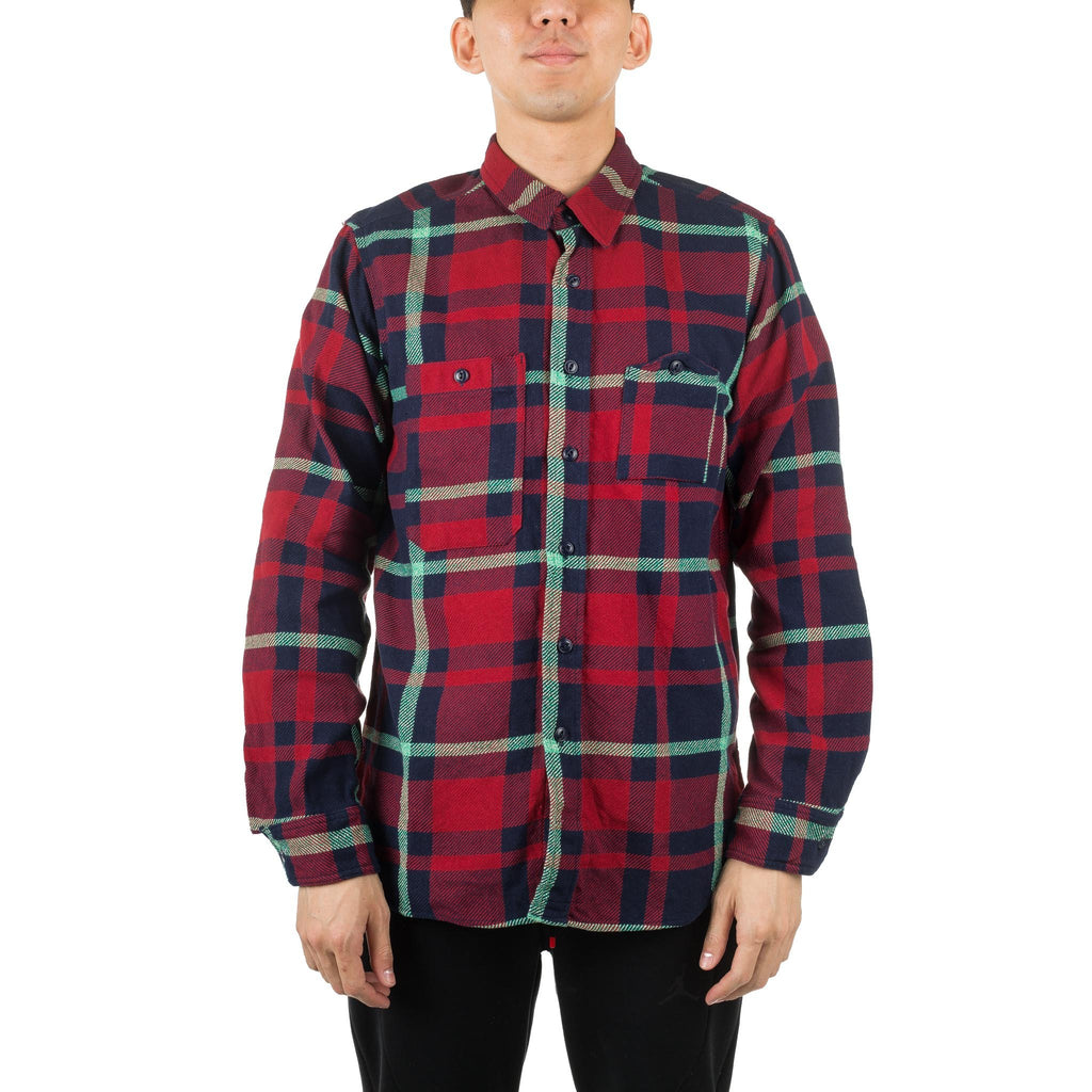 Work Shirt Red/Navy/Teal F8A0531 F8-35
