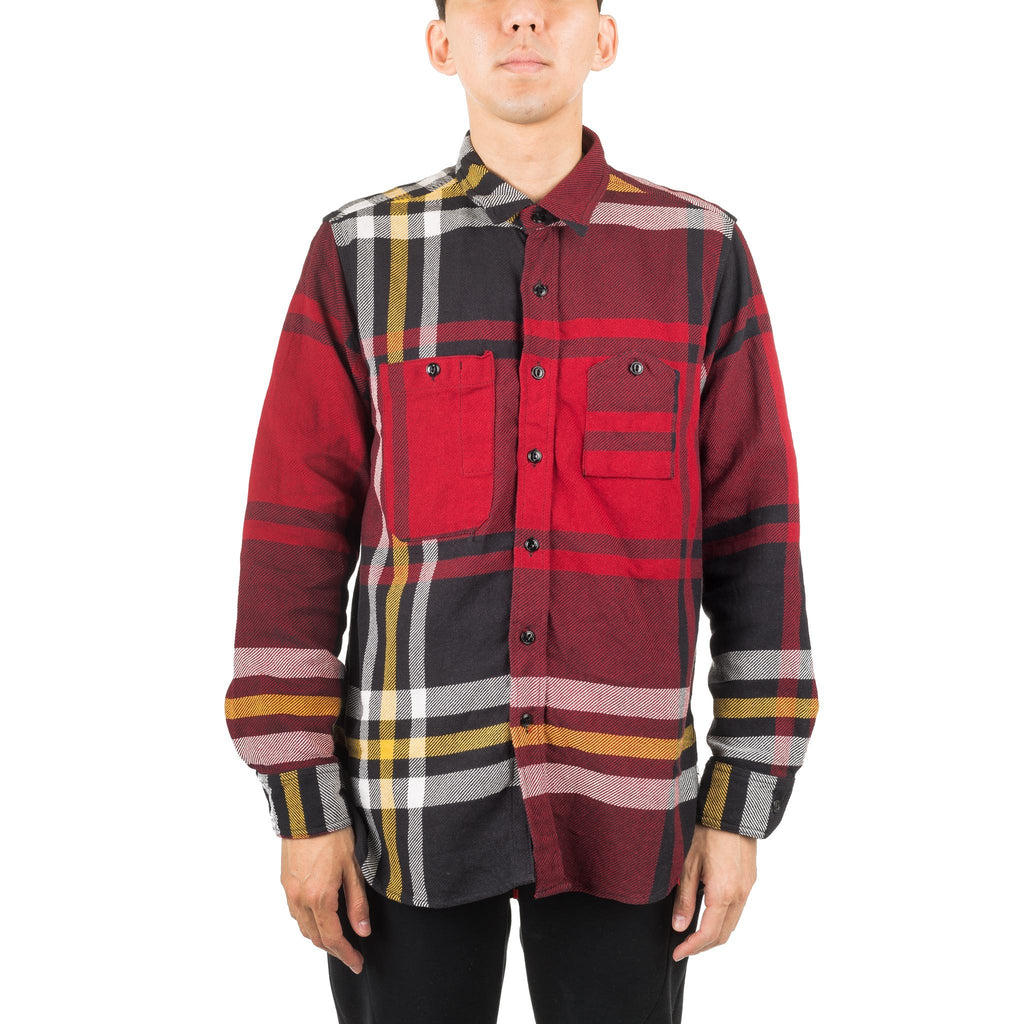 Work Shirt Black/Red/Yellow F8A0531 F8-36