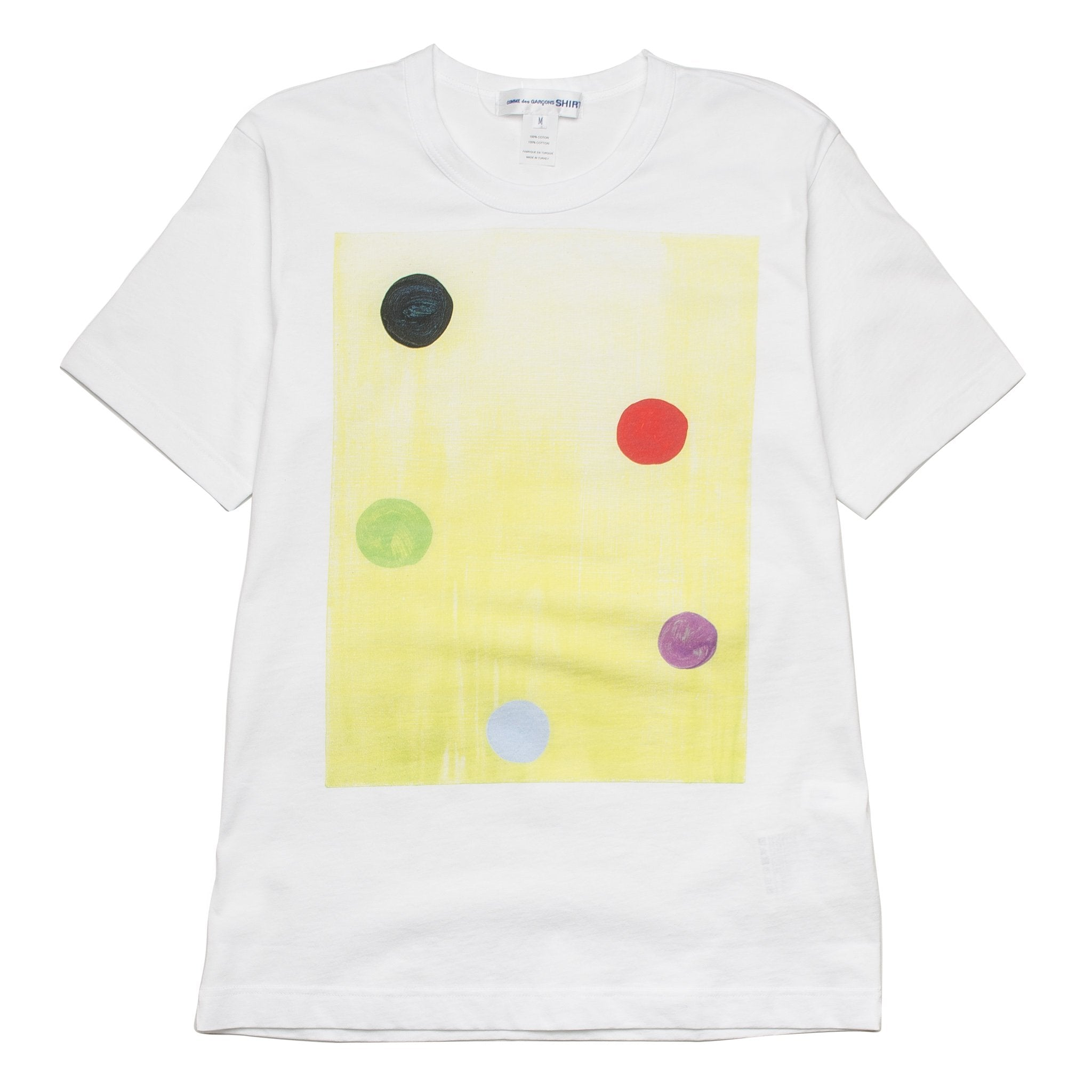Big Multi Dots Tee S26116 White