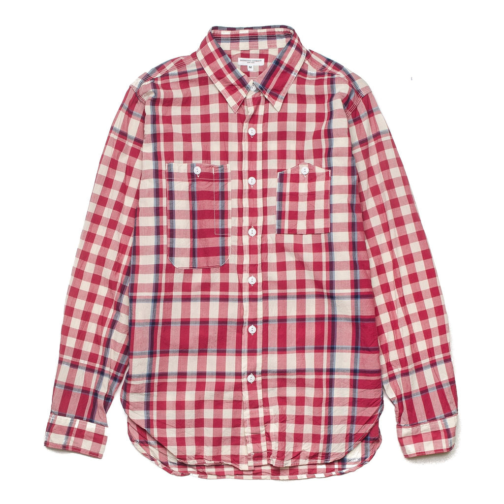 Work Shirt Big Plaid Madras Red Red/Navy
