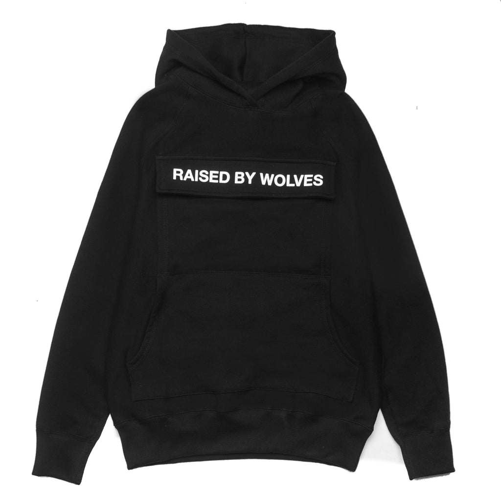 RBW Cargo Hooded Sweatshirt Black