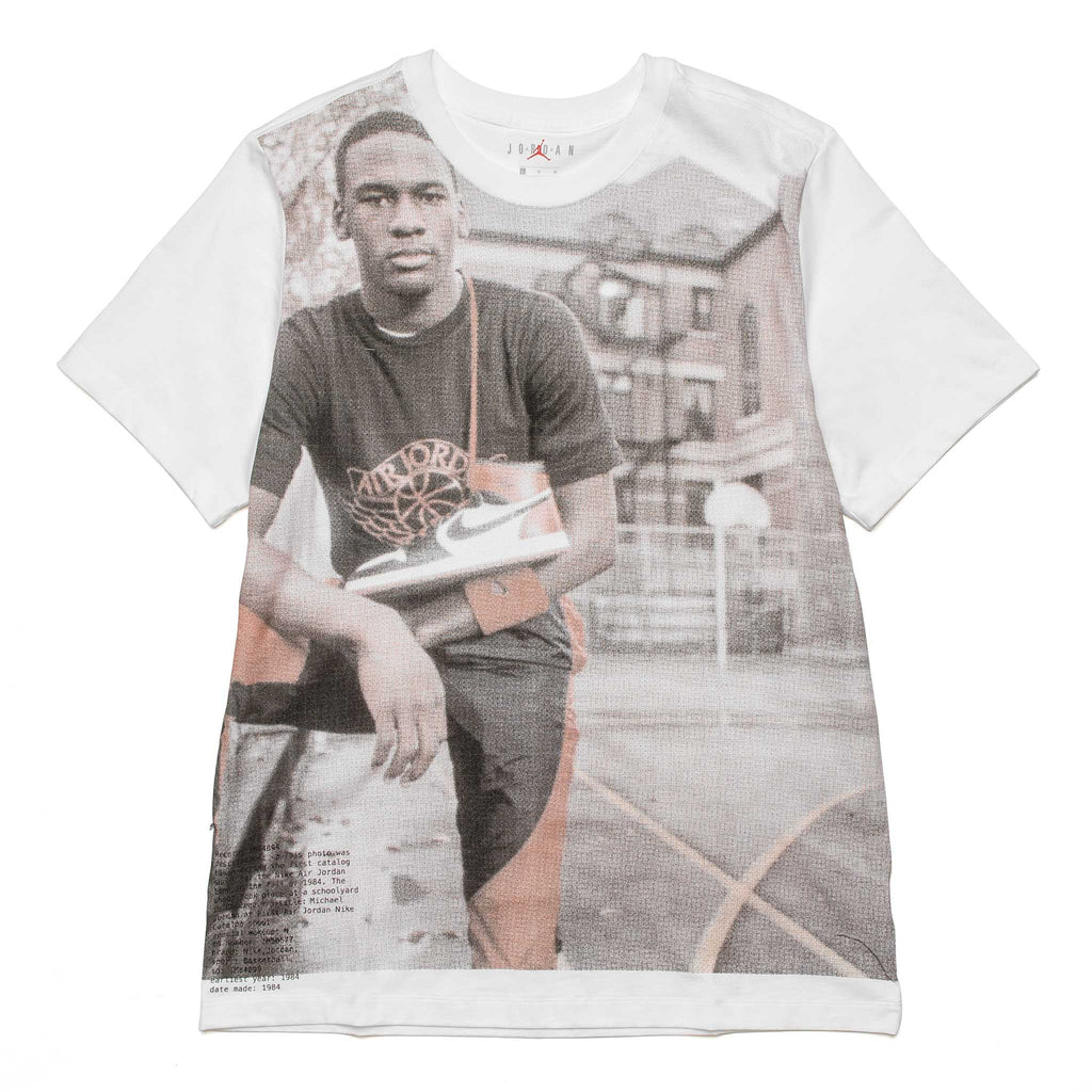 AJ1 Photo Tee AT8917-100 White
