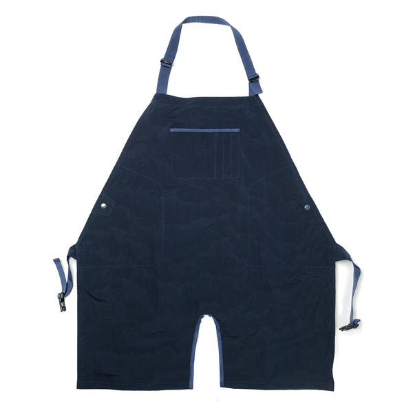 "Grown-Up Bib ""Pelt Sign"" Navy MW-AC16108"