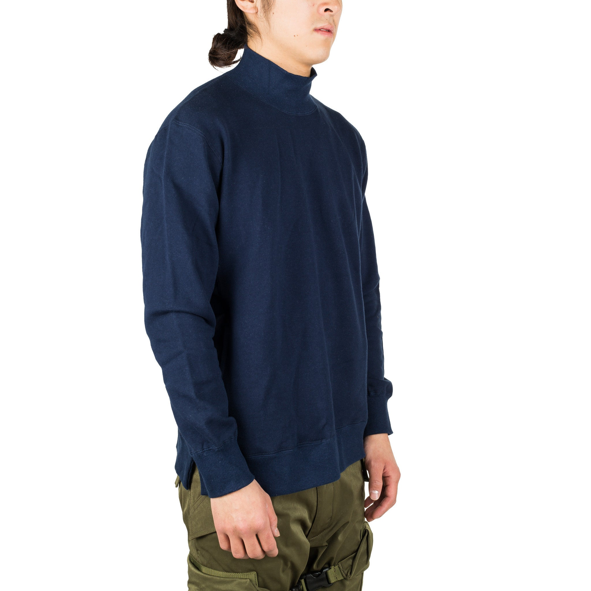 WL-C-15 Mock Sweat Shirt Navy