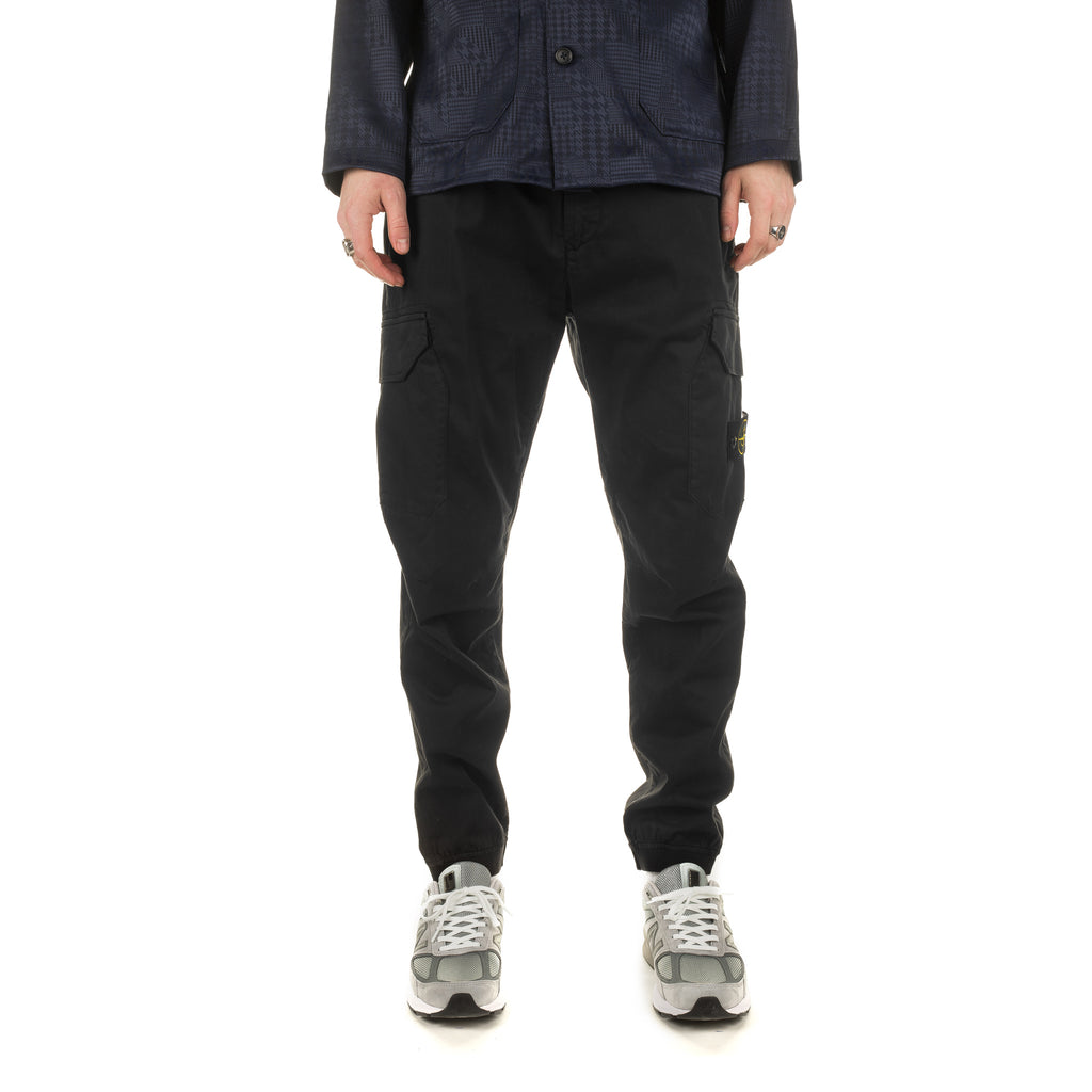 Cargo Pant with Flap Pockets 721531409 Black