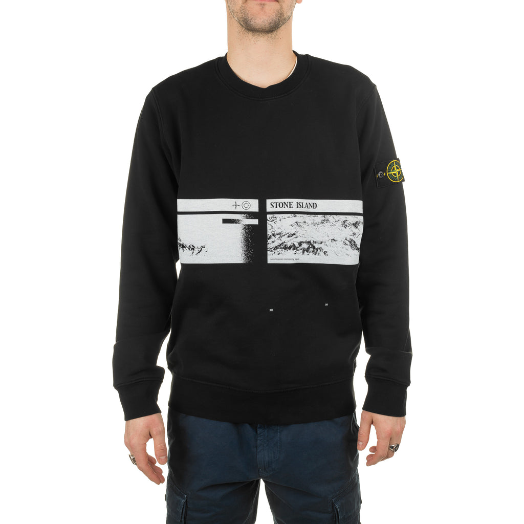 Drone Three Crewneck Sweatshirt 721563094 Black