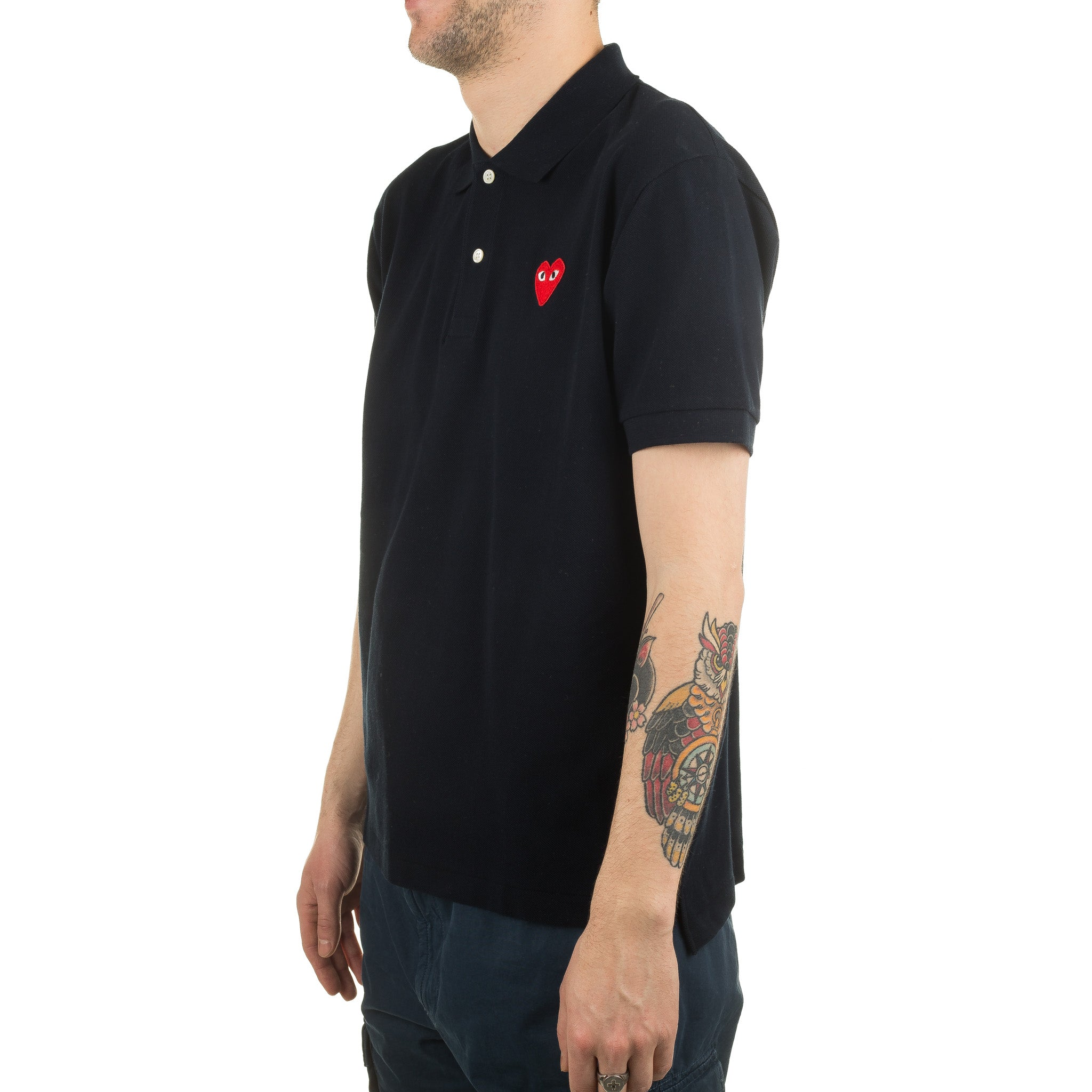 AZ-T006-051-2 Polo Shirt Navy