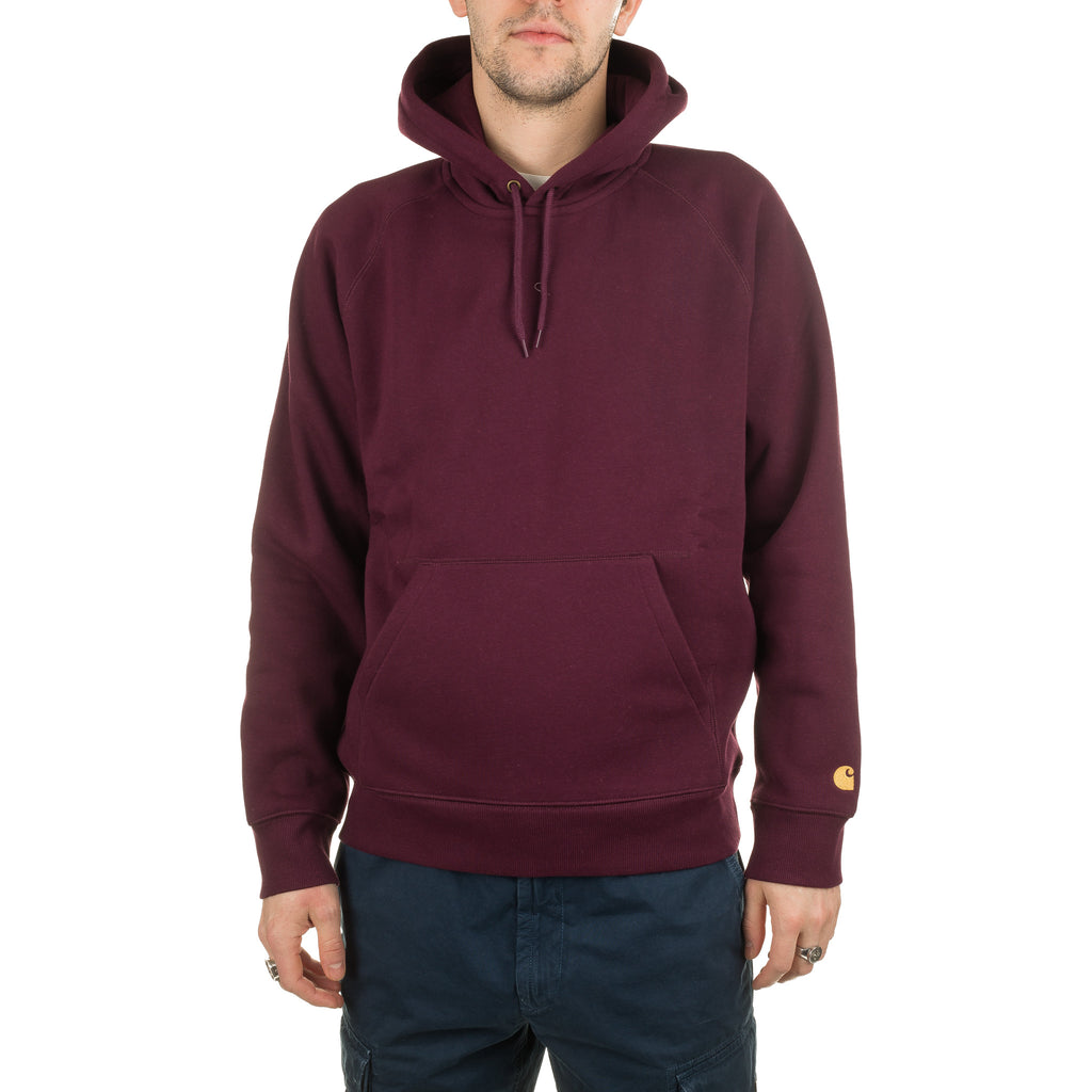 Hooded Chase Sweat I026384 Shiraz