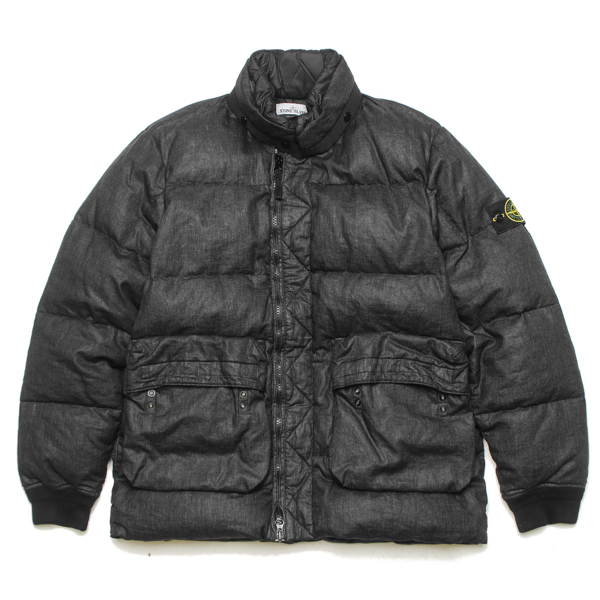 Lino Resinato Down-TC Jacket 711541833 V0029 Black