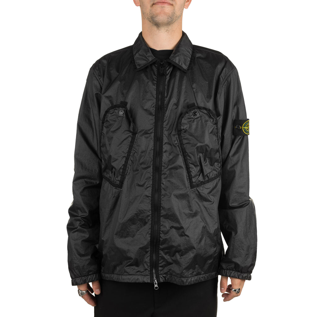 Lamy Flock Zip Overshirt 711511435 V0029 Black