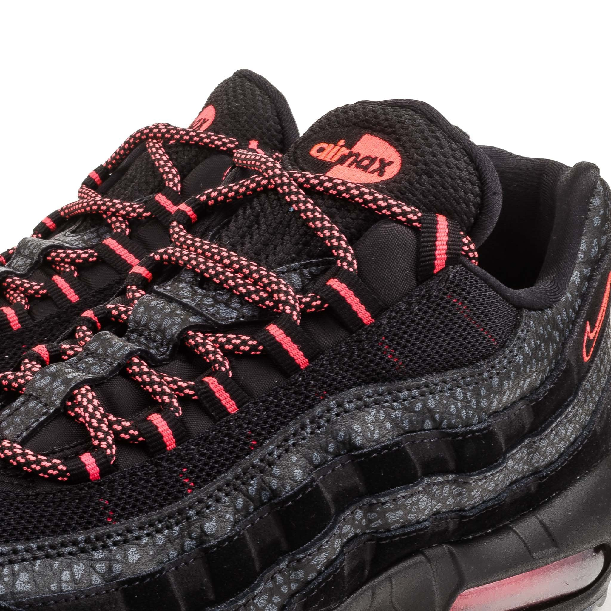 nike air max 95 safari black infrared