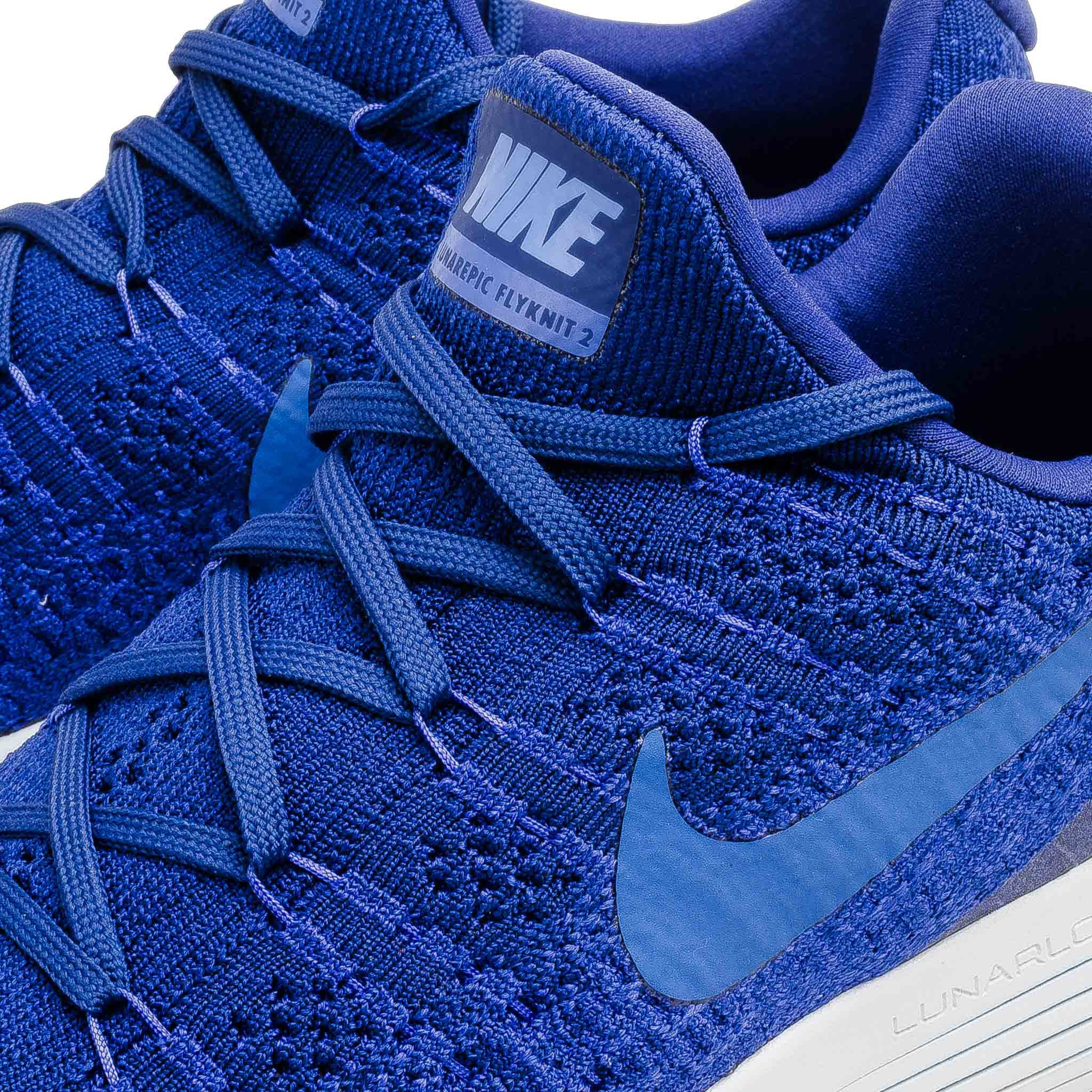 Nike Lunarepic Low Flyknit 863779-400 Blue
