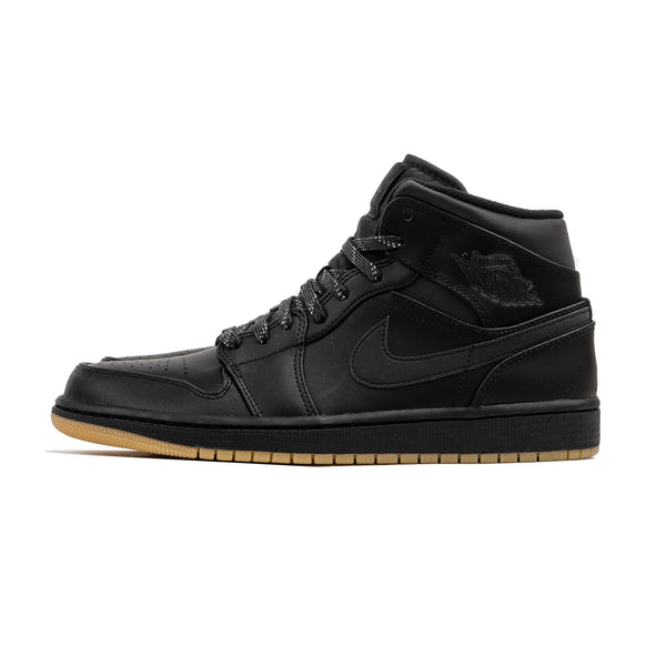 Air Jordan 1 Mid Winterized AA3992-002 Black