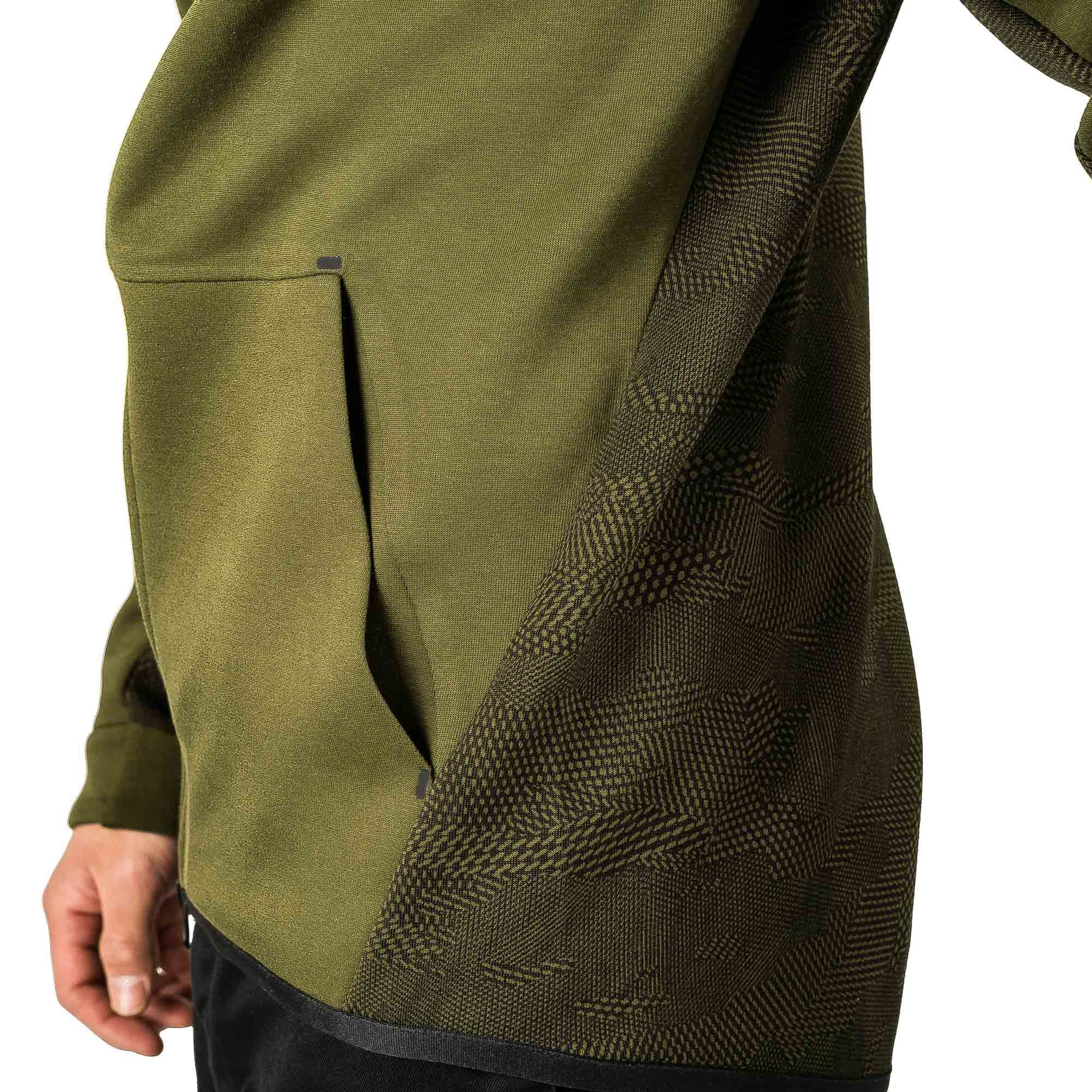 Tech Fleece Windrunner 836422-387 Olive