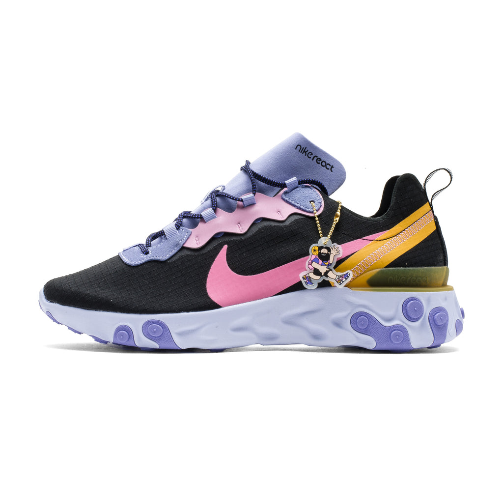 React Element 55 PRM CI9593-001 Black