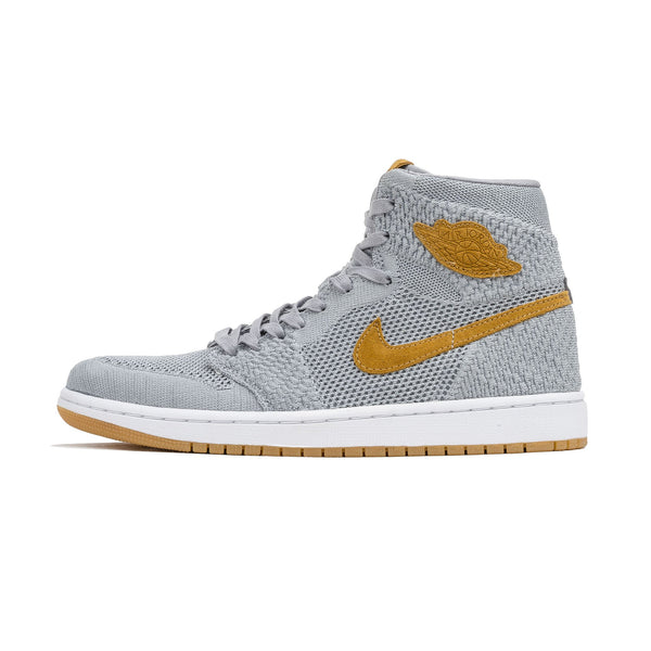Air Jordan 1 Retro Flyknit 919704-025 Wolf Grey