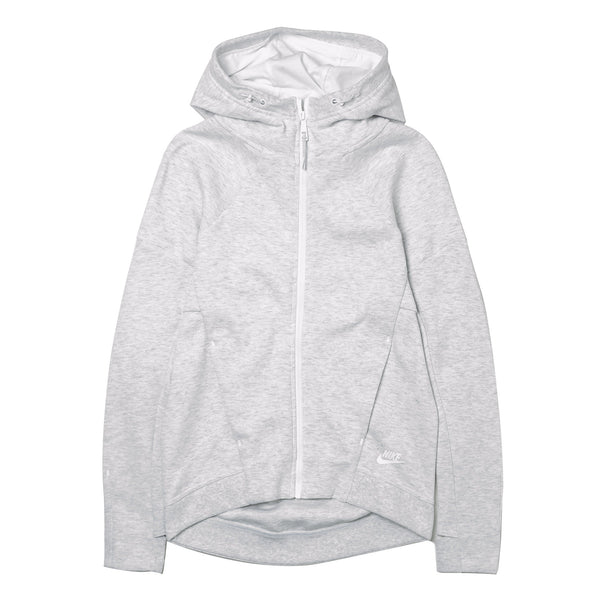 WMNS Tech Fleece Zip White 806329-051