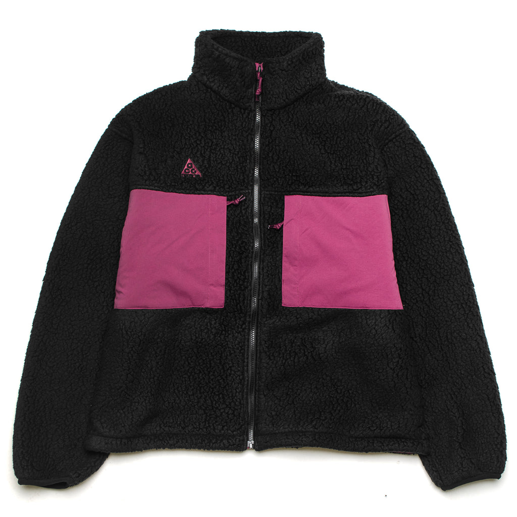 ACG Sherpa Full Zip CT2949-010 Black