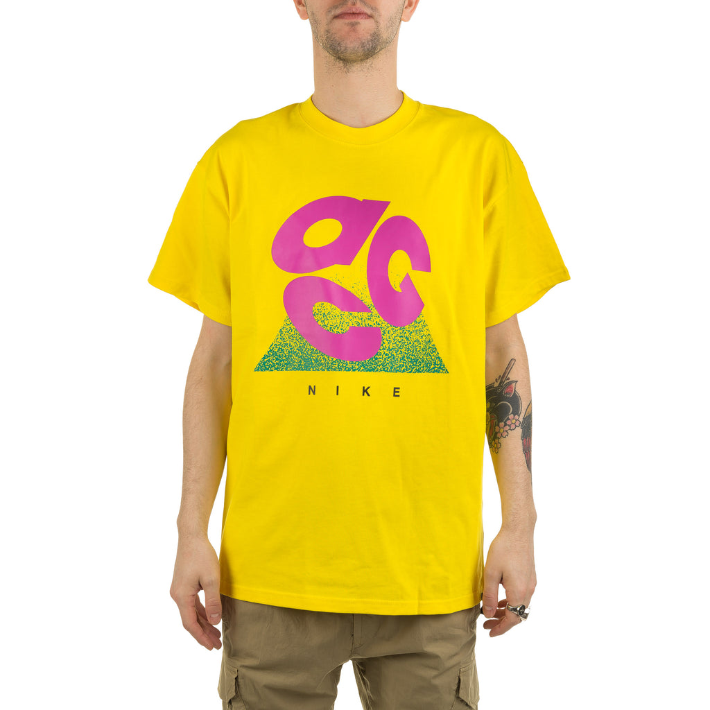 ACG Motion Logo Tee CT4170-731 Yellow