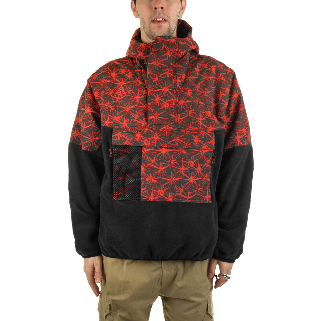 ACG Fleece Anorak CK3106-010 Black