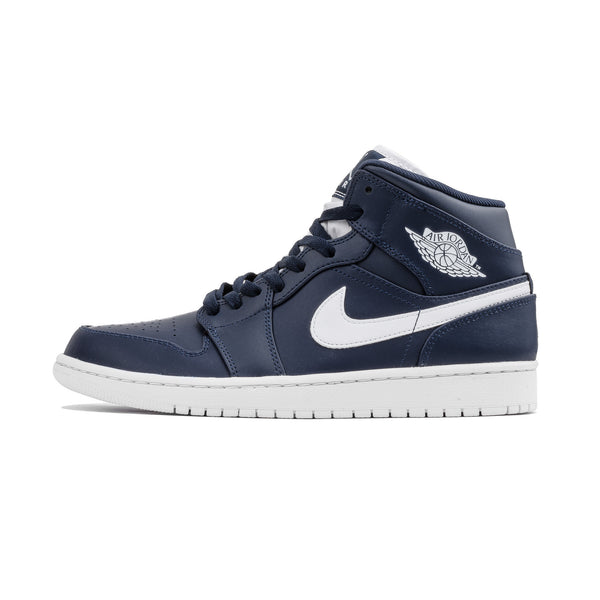 Air Jordan 1 Mid 554724-402 Navy