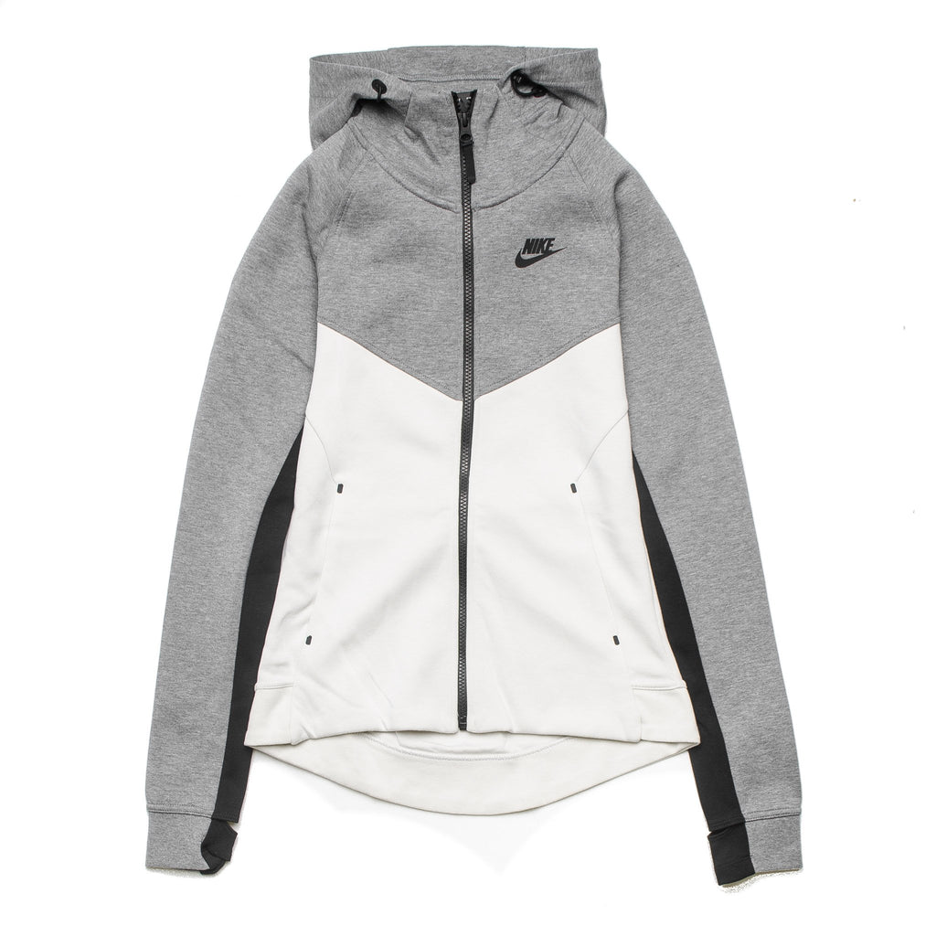 W Tech Fleece Zip Hoodie 842845-093 Bone