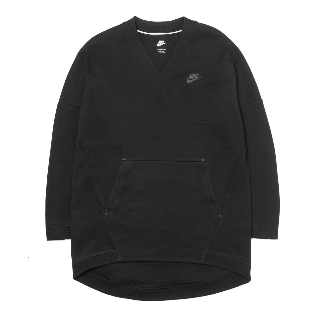 Wmns Tech Fleece Crewneck 803583-010 Black