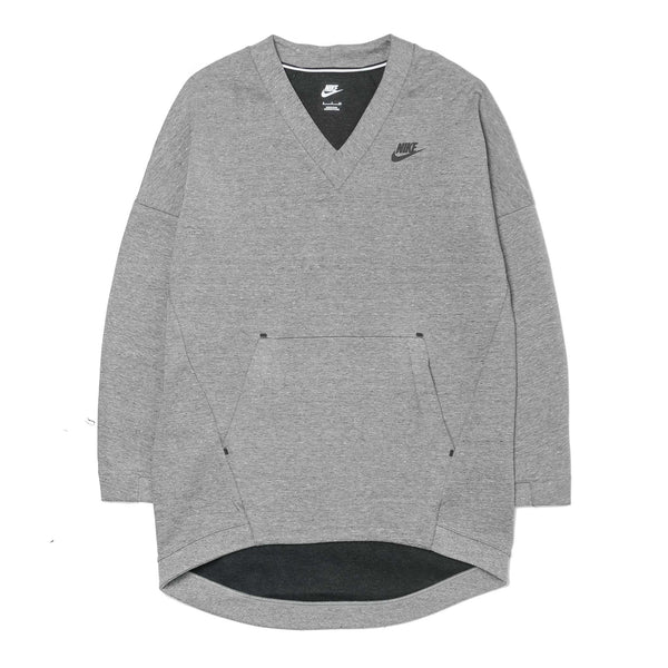 Wmns Tech Fleece Crewneck 803583-091 Grey