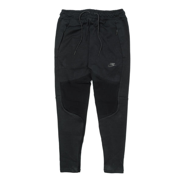 Pleated Tech Fleece Pant 805658-010 Black