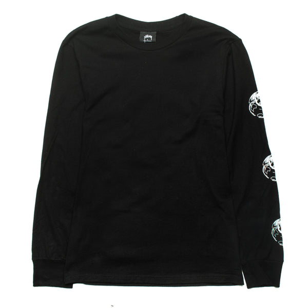 Stock World LS Tee Black