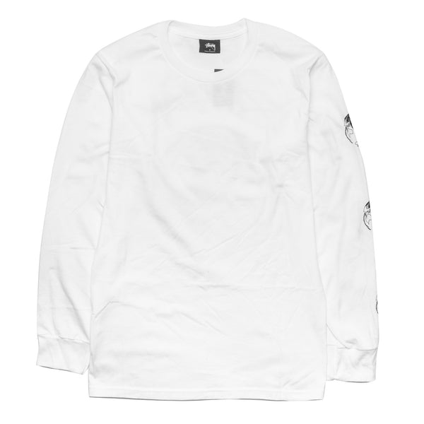 Stock World LS Tee White