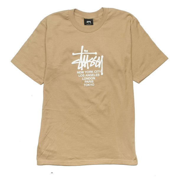Big Cities Tee Light Brown
