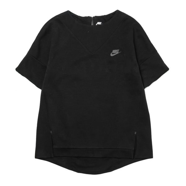 W Tech Fleece SS Crew  803581-011 Black
