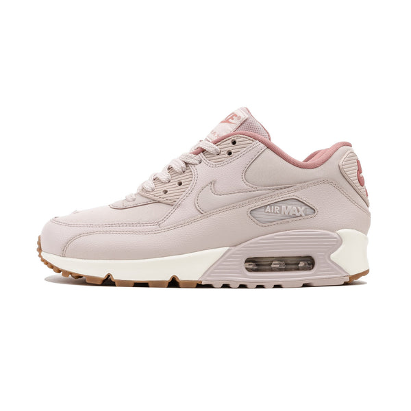 W Air Max 90 Leather 921304-600 Silt Red