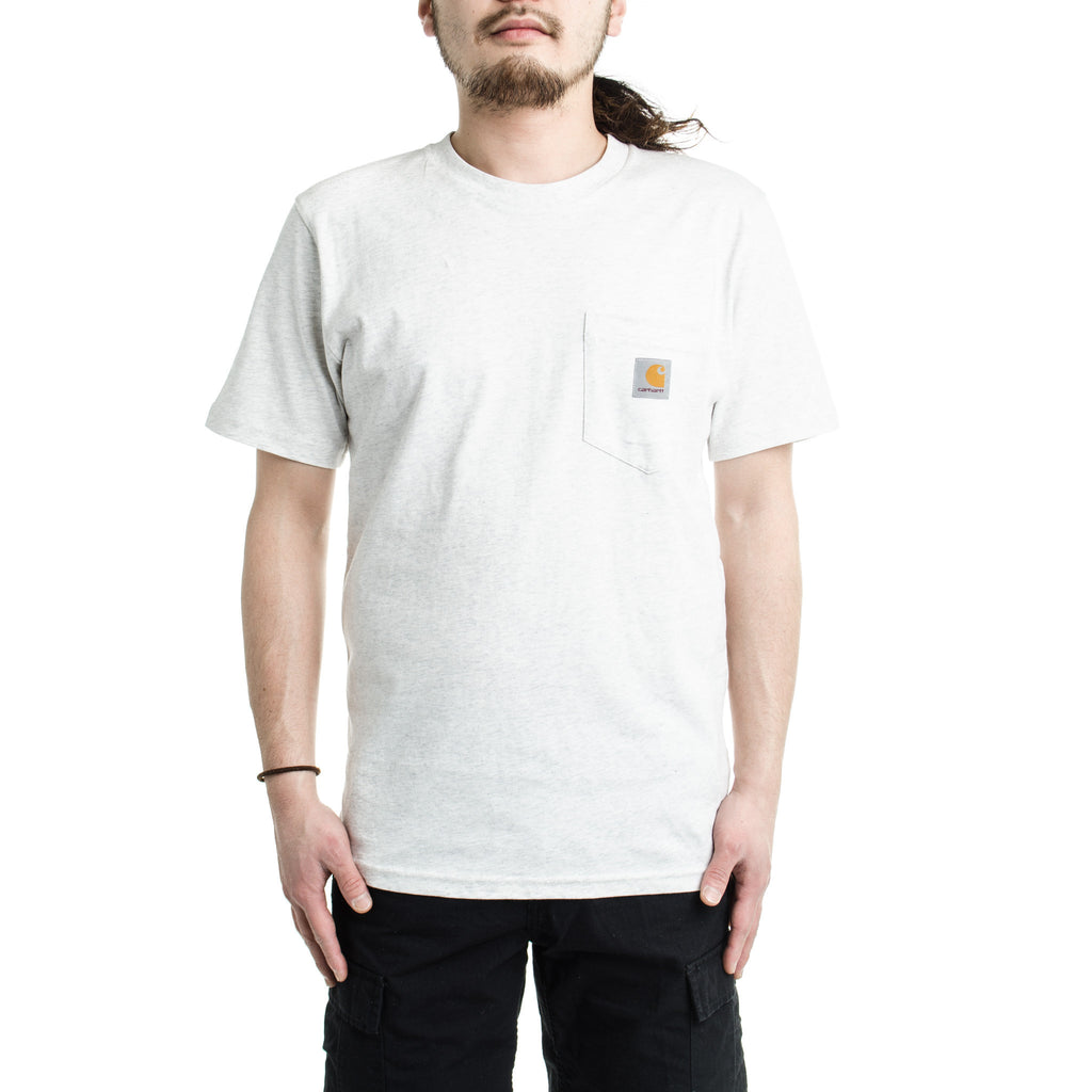 S/S Pocket Tee Ash Heather