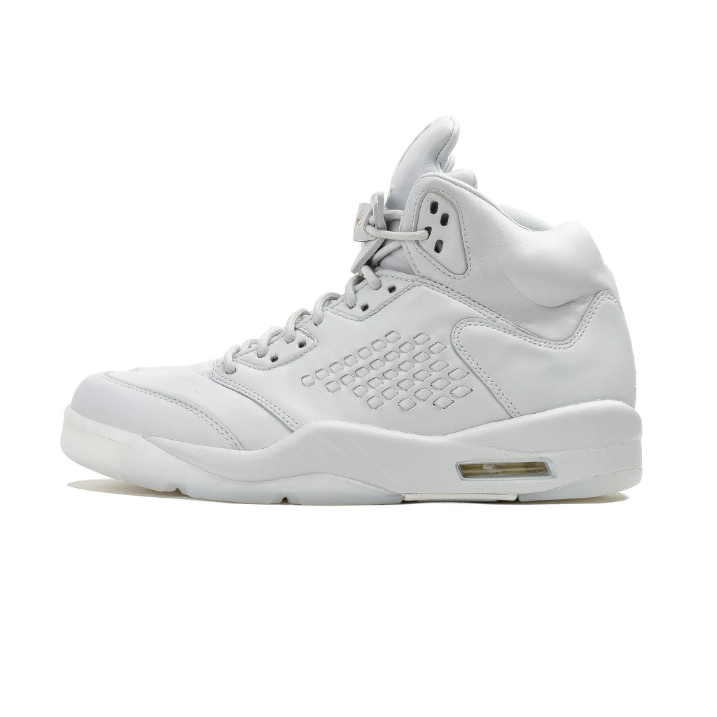 Air Jordan 5 Retro Premium 881432-003 Pure Platinum