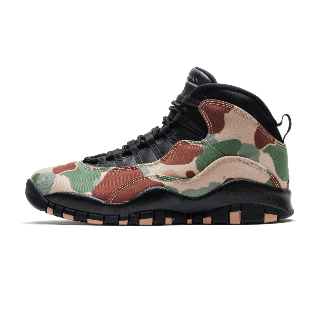 Air Jordan 10 Retro 310805-200 Duck Camo