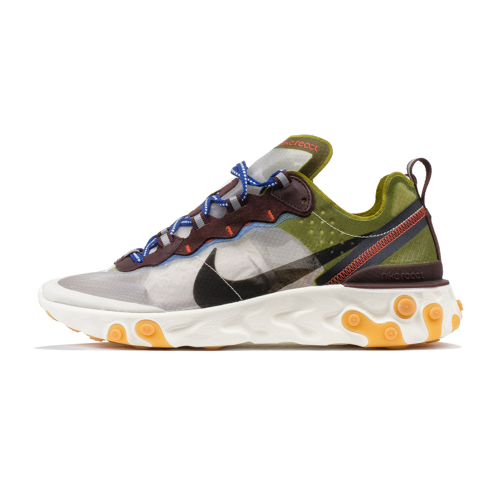 React Element 87 AQ1090-300 Moss Black