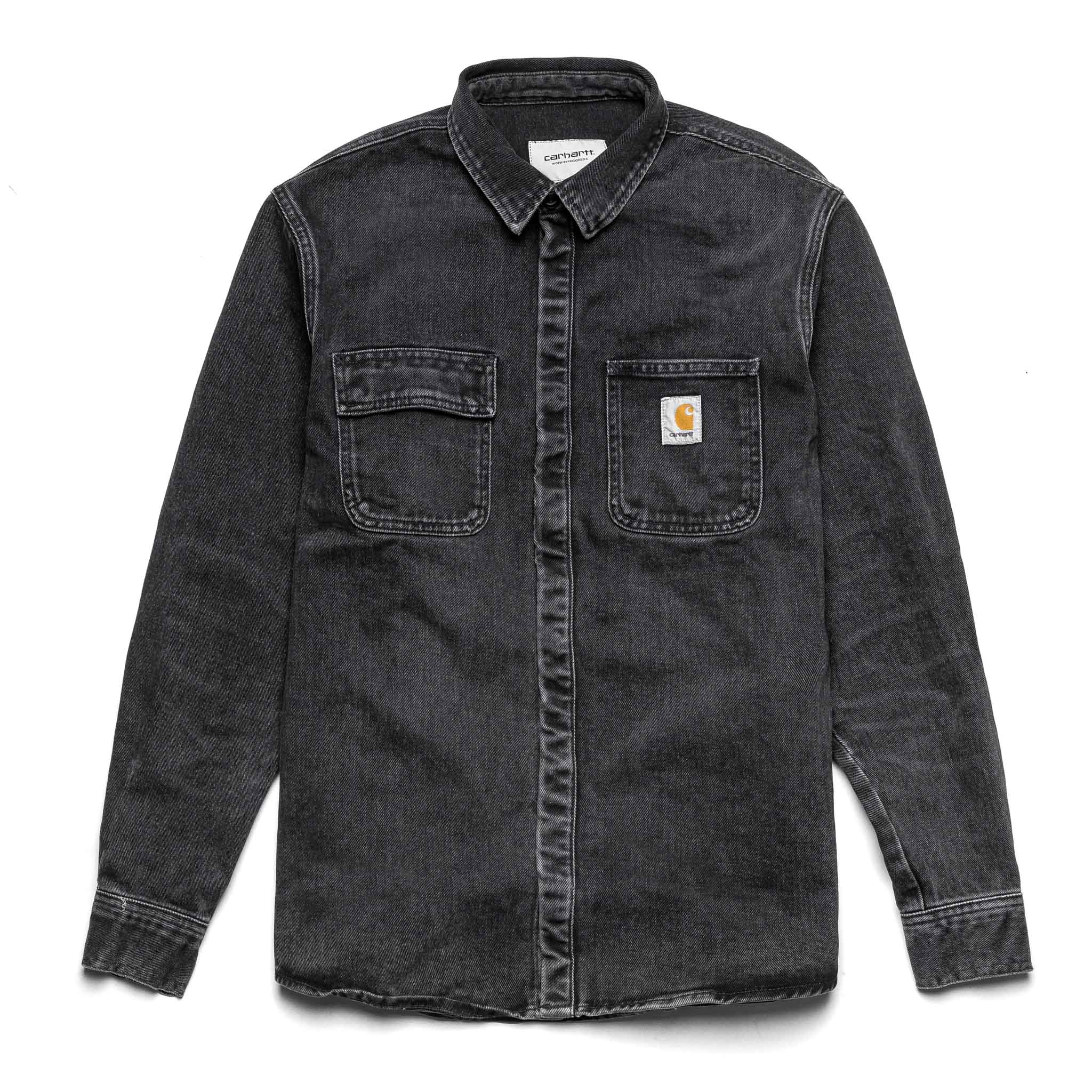 Salinac Shirt Jacket I029212 Washed Black