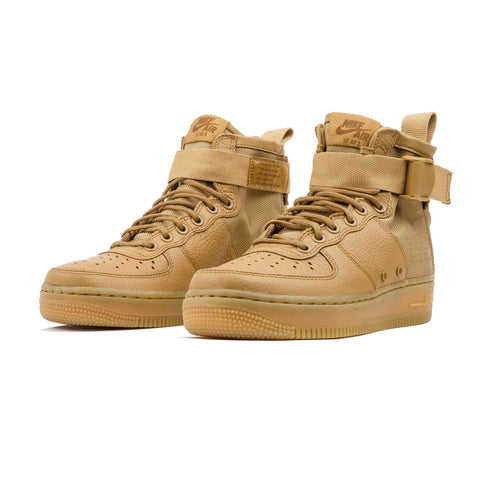 WMN Nike SF AF1 Mid AA3966-700 Gold