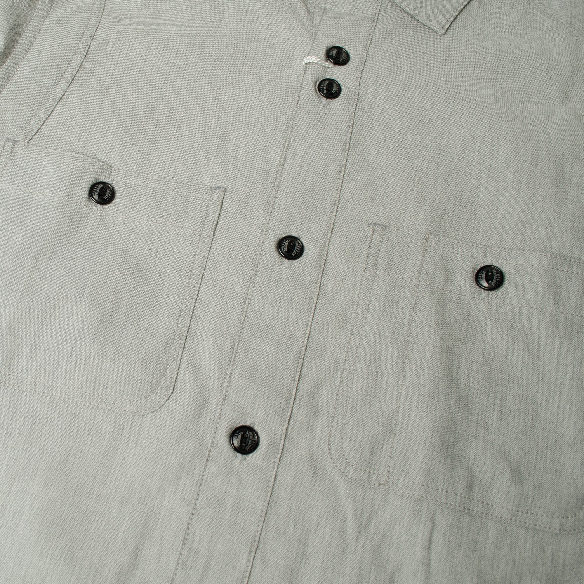 CHAMBRAY SHIRT Grey