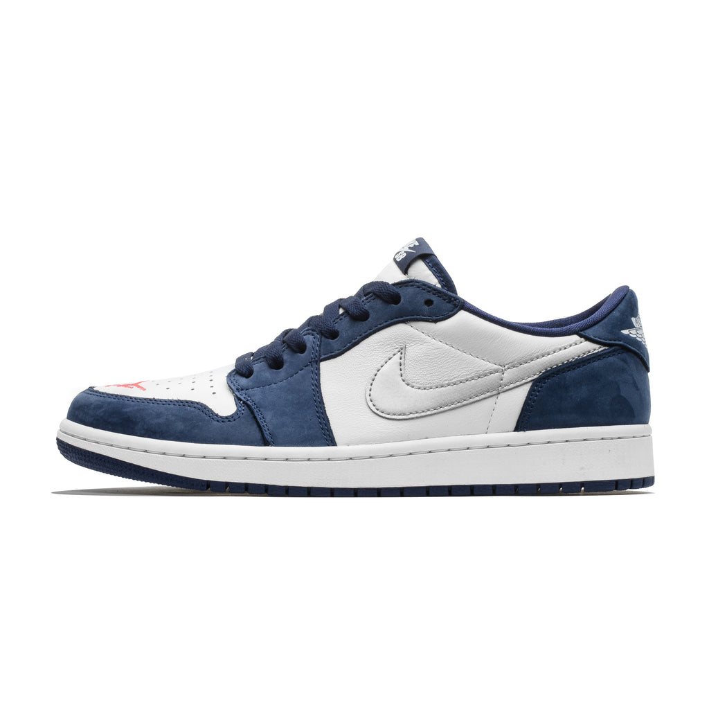 958372631f7 Air Jordan 1 Low SB QS CJ7891-400 Midnight Navy ...
